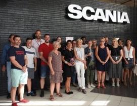 Un trophée bien mérité pour Scania Productions Angers