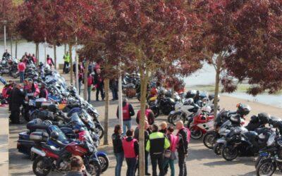 Retour de randonnée moto Octobre rose