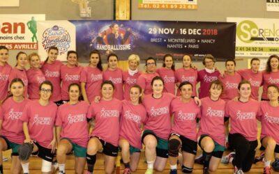 L'association sportive d'Avrillé Handball se mobilise :