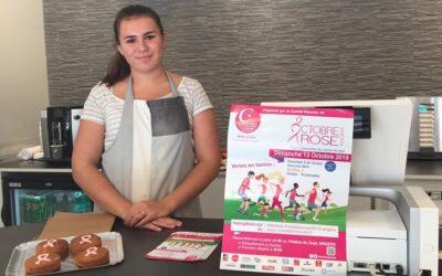 La pâtisserie de l'Haubane soutient Octobre rose