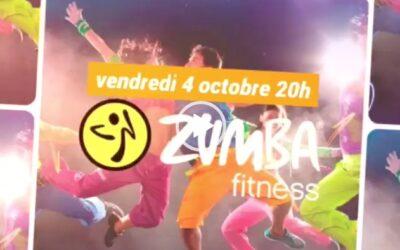 Soirée zumba – vendredi 4 octobre