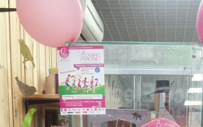 La cordonnerie Camus multiservice du centre Leclerc aux couleurs d'Octobre rose