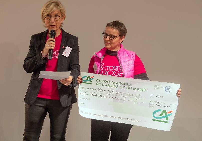 Octobre Rose : soirée partenaires – le Comité féminin 49 distribue 90 000 euros grâce à son édition 2019