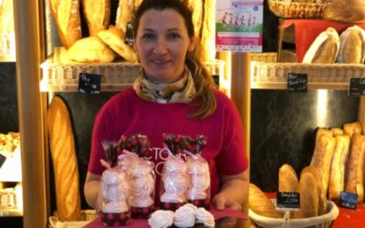 La boulangerie «Aux délices de Molière» soutient Octobre rose