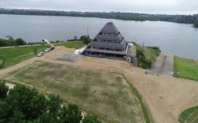 ACCÈS à la pyramide Angers Lac de Maine